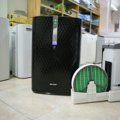 Máy lọc không khí khử mùi bù ẩm SHARP KC-W45-Bdata-cloudzoom =